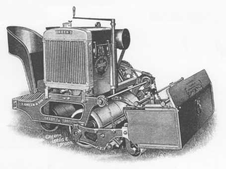 This Greens motor mower from 1938 is one of the largest ever made by the company.