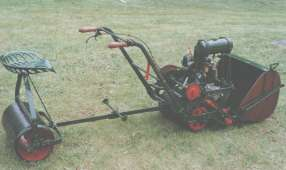 1920s Green's SM Motor Mower with Green's Engine.