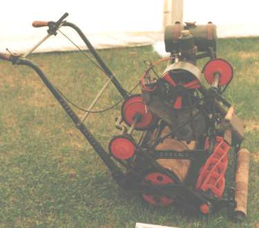 1920s Green's SM Motor Mower with JAP Engine
