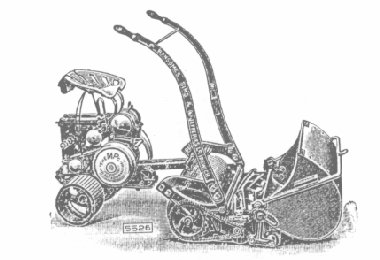MP Mower Pusher as featured in the 1927 Ransomes catalogue.