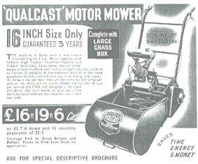 Qualcast 16 Advertisement, c1938